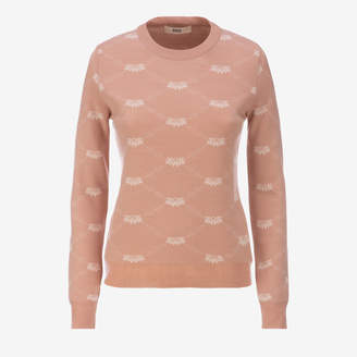 Bally Ladies Jacquard Sweater
