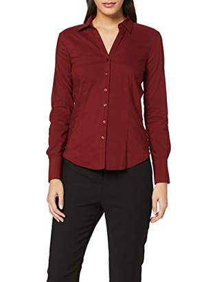 More & More Women's Businessbluse Von Blouse, (Wine Red 0548), 8 (Size: 34)