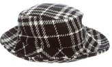 Burberry Check Bucket Hat w/ Tags
