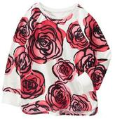 Crazy 8 Rose Pullover