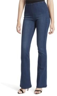 Jessica Simpson Hi Rise Pull-On Flared-Leg Jeans
