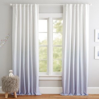 Pottery Barn Kids Printed Ombre Blackout Curtain