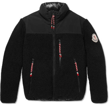Moncler Genius 2 1952 Brohan Reversible Fleece And Quilted Shell Down Jacket
