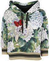 Dolce & Gabbana Hydrangea Printed Hoodie