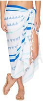 Plush Soleil Ultra Soft Arrowhead Pareo Scarves