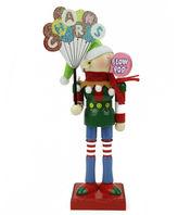 Asstd National Brand 11 Prince Charms Blow-Pop Wooden Elf Figurine