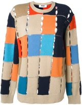 MSGM colour block jumper