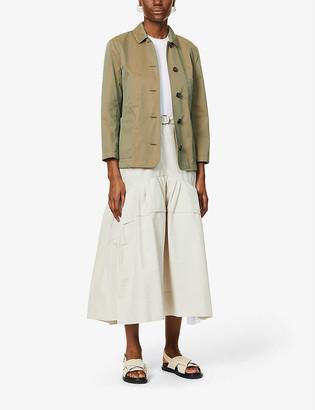 S Max Mara Tabata cotton-blend jacket