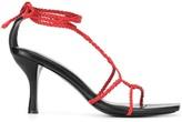 CHRISTOPHER ESBER braided sandals