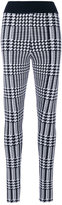 Balmain Prince of Wales checked leggings - women - Polyamide/Spandex/Elastane/Viscose - 34
