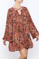 Umgee USA Floral Swing Dress