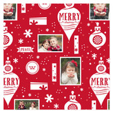 Minted Ornamental Holiday! Personalized Wrapping Paper