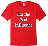 Men's Bridesmaids T Shirt I'm The Bad Influence Medium