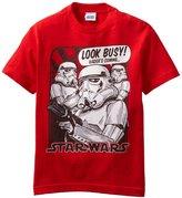 Star Wars Boys 8-20 Yth Busy Troopers