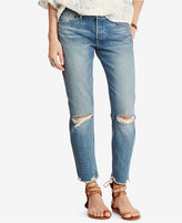 Denim & Supply Ralph Lauren High-Rise Tapered Jeans
