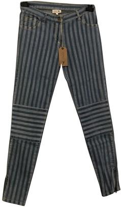 soeur Blue Cotton - elasthane Jeans for Women