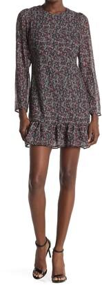 NSR Madeline Drop Waist Mini Dress