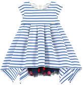Junior Gaultier Poplin and tulle dress