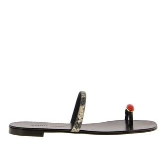 Giuseppe Zanotti Ring Flat Sandal
