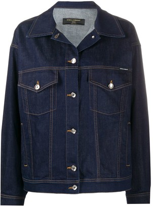 Dolce & Gabbana Oversized Denim Jacket