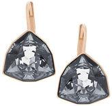 Swarovski Brief Rose Goldtone and Silver Night Crystal Drop Earrings