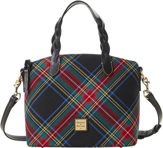 Dooney & Bourke Blakely Tartan Small Celeste Satchel