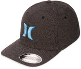 Hurley Men's Suits 2.0 Embroidered Logo Flexfit Hat