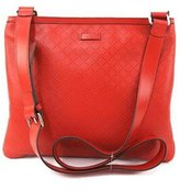 Gucci Women's Guccissima Leather Crossbody Messenger Bag 201446 6523
