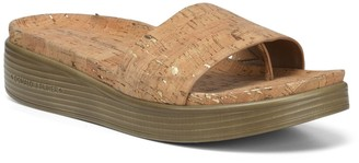 Donald J Pliner Fiji Low Wedge Slide Sandal