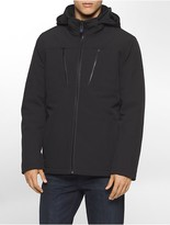 Calvin Klein Soft Shell Hooded Jacket