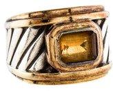 David Yurman Citrine Cocktail Ring