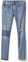 Gap STRETCH 1969 shadow patch skinny fit jeans