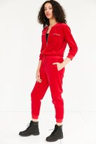 Juicy Couture For UO Velour Coverall Jumpsuit