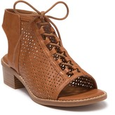 EuroSoft Bliss Perforated Lace-Up Block Heel Sandal