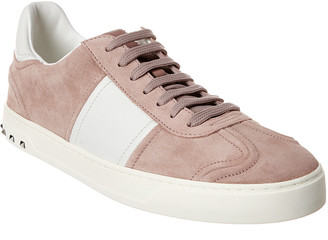Valentino Suede & Leather Sneaker