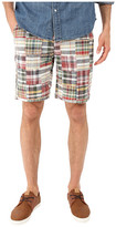 Vintage 1946 Vintage Patch Madras Shorts