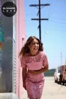 Girls On Film Pink Mini Dress