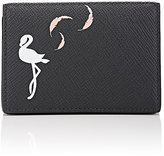 Smythson Women's Panama Animation Folding Card Case