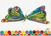 Oopsy Daisy Fine Art For Kids Eric Carle's Butterfly Canvas Wall Art
