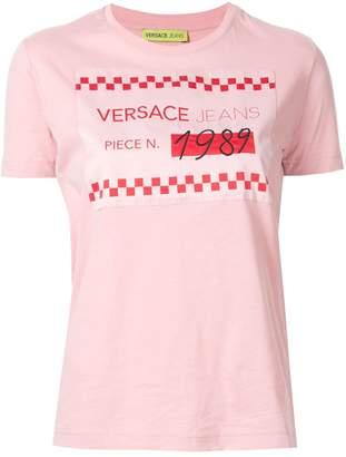 Versace 1989 logo-patch T-shirt