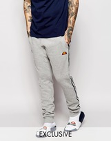 Ellesse Ellesse Skinny Joggers With Taping - Grey
