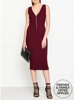 McQ Body Block Zip Dress