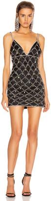 Fannie Schiavoni Devon Dress in Silver   FWRD