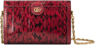 Gucci Ophidia small snakeskin shoulder bag
