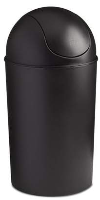 Umbra Grand 10 Gallon Indoor/Outdoor Kitchen Trash Can with Swing Top Lid