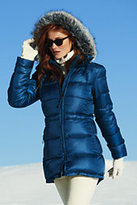 Classic Women's Petite Explorer Down Parka-Neptune Blue