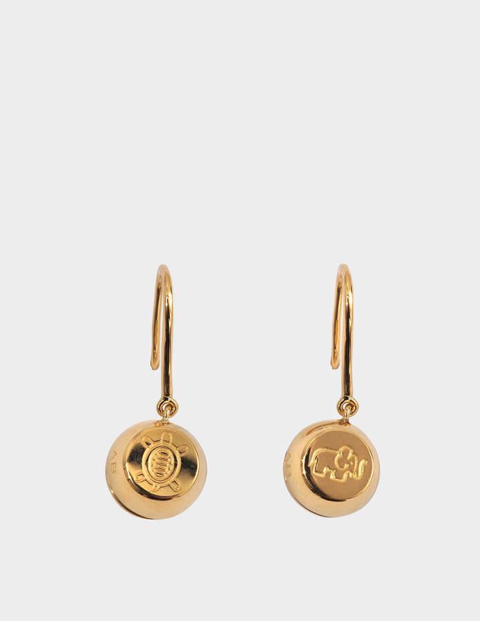 Aurelie Bidermann Fine jewellery - 18K Telemaque earrings