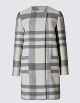 Marks and Spencer PETITE Double Face Blanket Coat