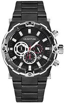 Quantum Hunter Men's Quartz Watch with Chronograph Quartz Stainless Steel Coated hng481.650