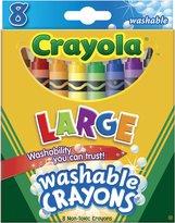 Crayola Washable Crayons-8/Pkg